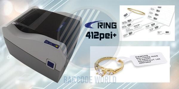 Máy in tem vàng bạc trang sức RING 412PEI+ công nghệ Nhật Bản tiên tiến