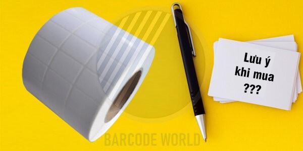 Những lưu ý khi chọn mua giấy in mã vạch