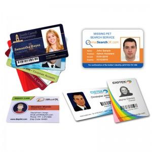 Mẫu các loại thẻ thẻ thành viên Thẻ nhân viên