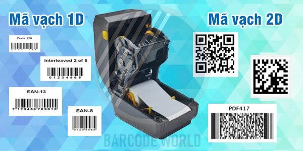 Máy in mã code gần như có thể in ấn tất cả các loại thông tin bạn mong muốn lên bề mặt tem nhãn