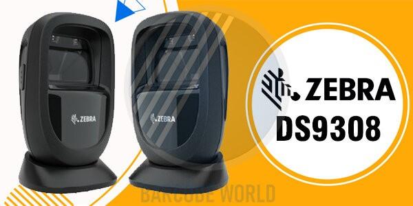Máy đọc barcode trên điện thoại Zebra DS9308 thuộc dòng máy để bàn với tốc độ quét nổi trội