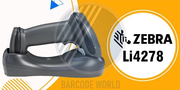 Máy quét mã vạch trên điện thoại Zebra Li4278 chinh phục hiệu quả các mã vạch 1D
