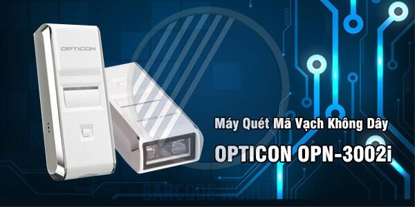 Máy quét mã vạch không dây Opticon OPN-3002i với kích thước nhỏ gọn hàng đầu
