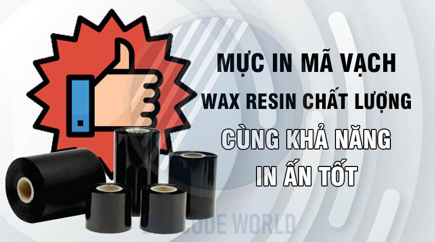 MỰC WAX RESIN CHẤT LƯỢNG CÙNG KHẢ NĂNG IN ẤN TỐT
