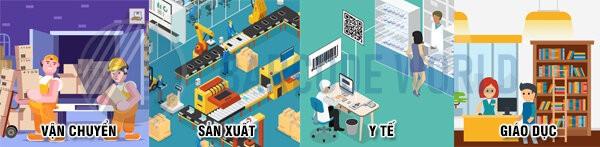 Máy in tem nhãn mã vạch ứng dụng cho nhiều ngành nghề, lĩnh vực