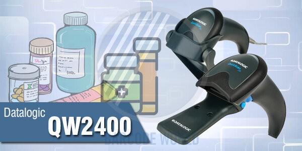 Máy quét mã vạch tính tiền tốt cho hiệu thuốc - Datalogic QW2400