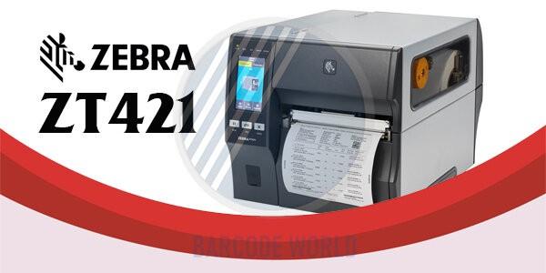 Máy in Zebra ZT421 - Giải pháp in tem 6 inch tiết kiệm ngân sách