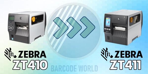 Máy in barcode Zebra ZT411 thay thế cho ZT410