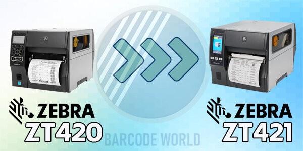 Máy in barcode Zebra ZT421 và sự thay thế cho dòng máy in Zebra ZT420