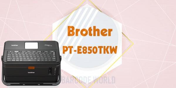 Máy in mã vạch cầm tay không dây Brother PT-E850TKW