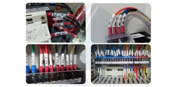Ứng dụng in ống luồn đầu Cosse (ống co nhiệt) của máy in nhãn Brother