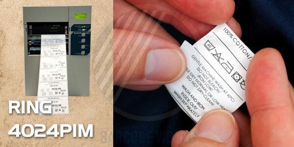 Máy in mã vạch RING 4024PIM - Đáp ứng cho nhu cầu in ấn tem nhãn chuyên nghiệp, sắc nét hàng đầu