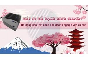 MÁY IN MÃ VẠCH RING 412PEI+ - ĐA DẠNG HÓA TEM NHÃN CHO DN VỪA VÀ NHỎ