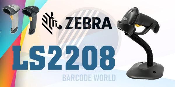 Máy đọc mã vạch Zebra LS2208 với thiết kế nhỏ gọn nhưng hoạt động hiệu quả