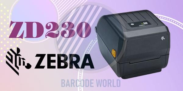 Máy in tem qr code Zebra ZD230 có tốc độ in nhanh chóng và chính xác
