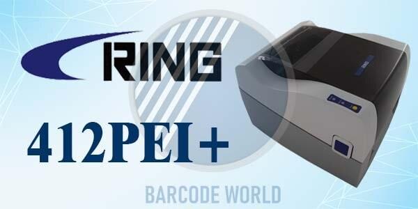 Máy in QR code Ring 412PEI+ có hiệu suất in ấn vượt trội