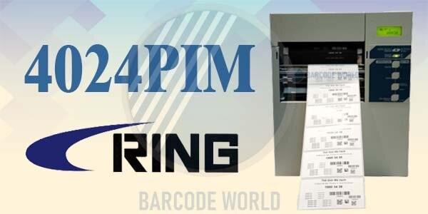 Máy in tem nhãn decal Ring 4024PIM có chất lượng in tuyệt vời