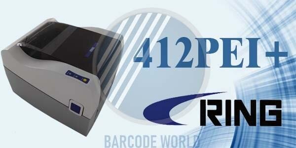 Máy in tem nhãn decal Ring 412PEI+ sở hữu công nghệ in ấn tiên tiến