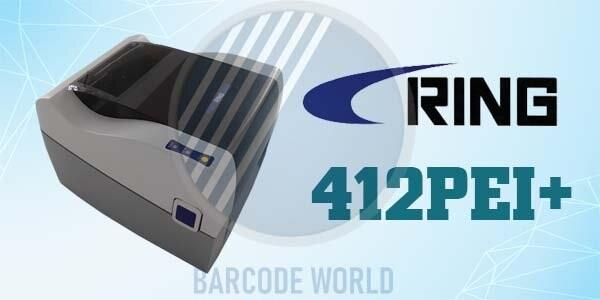 Máy in tem mã vạch Ring 412PEI+ thiết kế sang trọng, đẹp mắt