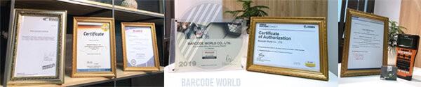 Chứng nhận Thế Giới Mã Vạch phân phối máy quét mã vạch chính hãng
