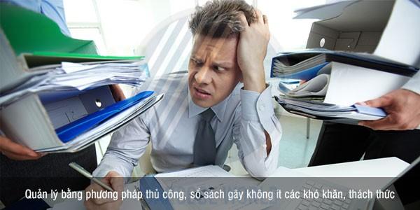 Khó khăn khi thực hiện quản lý tài sản qua sổ sách