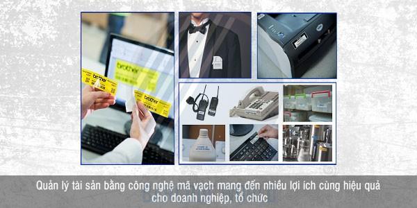 Giải pháp quản lý tài sản bằng tem nhãn và thiết bị mã vạch mang đến nhiều lợi ích