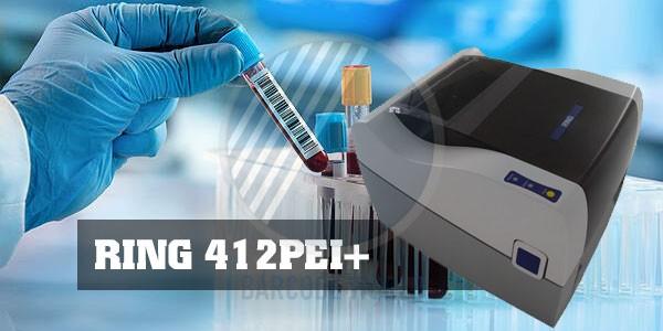 Máy in tem mã vạch quản lý mẫu xét nghiệm RING 412PEI+