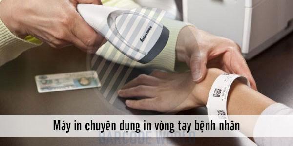 Máy in tem nhãn decal chuyên dụng in vòng tay bệnh nhân