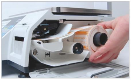 Cân điện tử in nhãn CAS CL5200 thân thiện với người dùng trong thay lắp vật tư