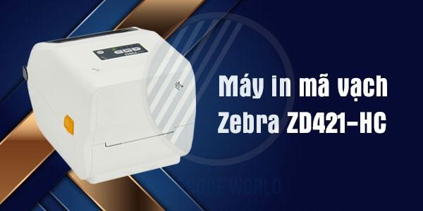 Máy in mã vạch Zebra ZD421 - Thiết kế bên ngoài chuyên dụng cho lĩnh vực y tế, chăm sóc sức khỏe