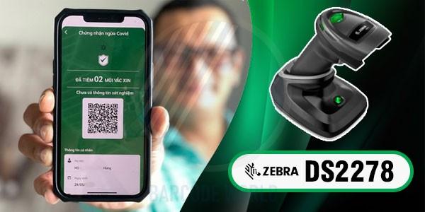Máy đọc QR code không dây Zebra DS2278 linh hoạt cao