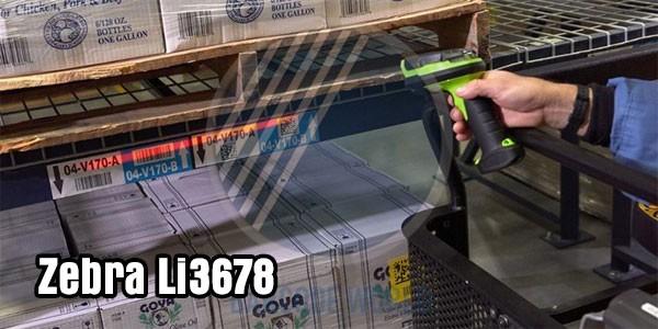 Máy quét mã vạch không dây Bluetooth Zebra Li3678