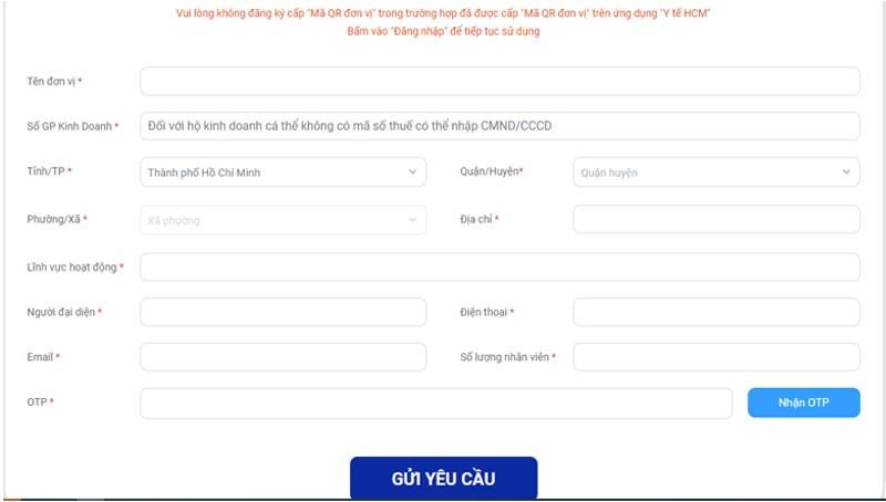 Hướng dẫn đăng ký, quét mã QR kiểm soát ra vào doanh nghiệp, tòa nhà (2)