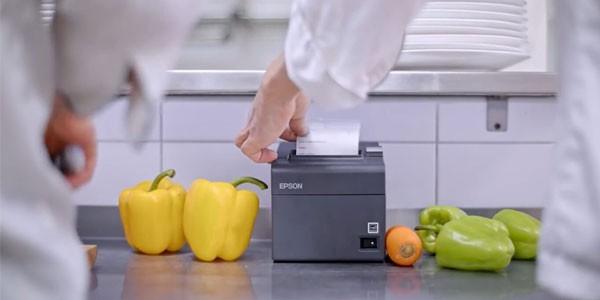 Máy in nhiệt dùng in phiếu gọi món trong bếp