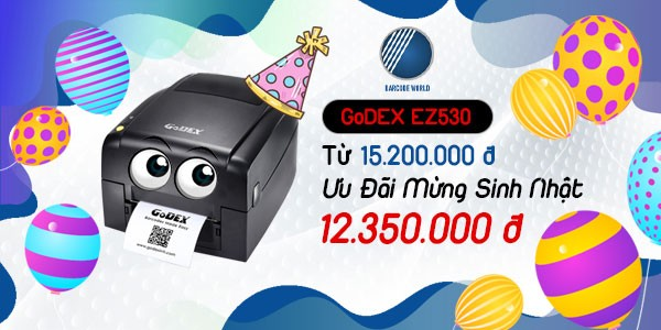 Khuyến mãi máy in tem GoDEX EZ530