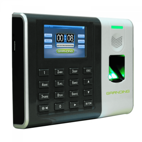 Máy chấm công vân tay + thẻ cảm ứng Ronald Jack Granding GT100