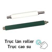 Trục lăn roller - Trục cao su máy in mã vạch chất lượng, giá tốt