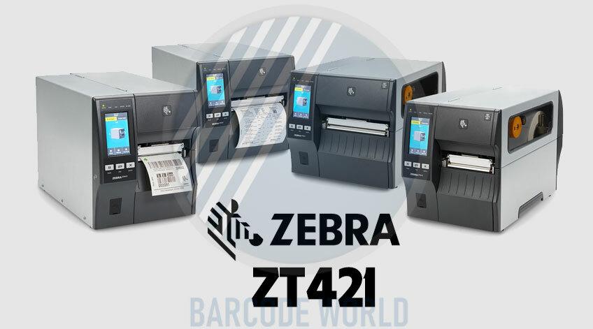 MÁY IN MÃ VẠCH ZEBRA ZT421 300DPI - MODEL CẢI TIẾN CỦA ZEBRA ZT420