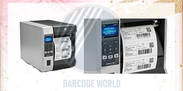 Màn hình máy in nhãn decal ZT620 cho phép người dùng dễ dàng quan sát tình trạng máy
