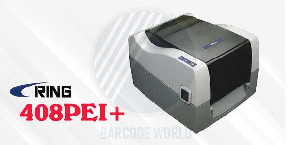 RING 408PEI+ - Các loại máy in tem nhãn mang công nghệ từ Nhật Bản