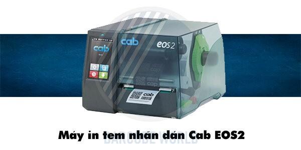 Máy in tem nhãn dán Cab EOS2