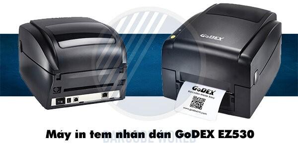 Máy in tem nhãn dán GoDEX EZ530