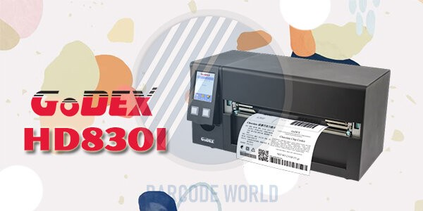 Máy in mã vạch khổ a4 GoDEX HD830i