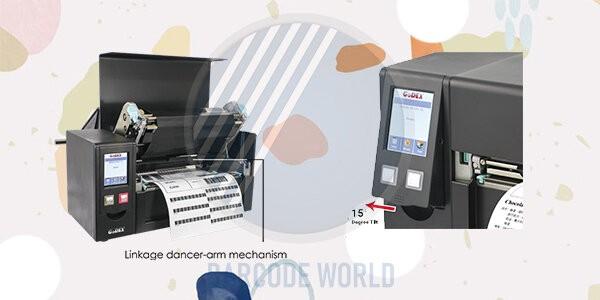 Thiết kế máy in mã vạch khổ a4 GoDEX HD830i