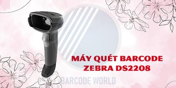 Máy quét barcode Zebra DS2208