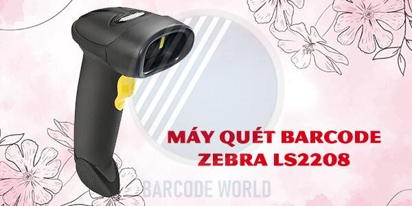 Máy quét barcode Zebra LS2208