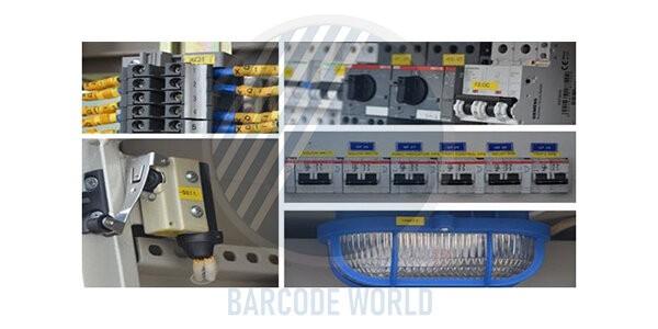 Ứng dụng trong ngành điện của máy in tem nhãn Brother