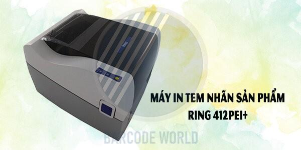 Máy in tem nhãn sản phẩm Ring 412PEI+