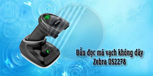 Đầu đọc mã vạch không dây Zebra DS2278
