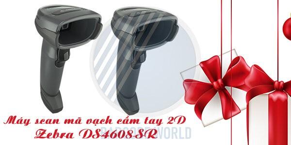 Máy scan mã vạch cầm tay 2D Zebra DS4608-SR
